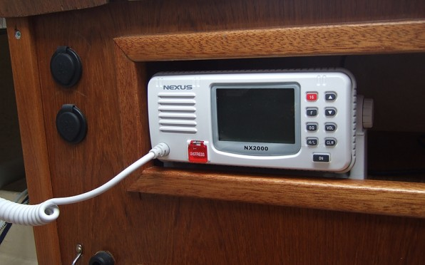 Medewis nya VHF-radio (Nexus NX2000)